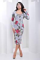 "Платье ""Мармарис"" (серый), фото 1"