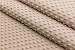 Лоскут плюша minky классического бежевого цвета, размер 45*160 см, фото 4