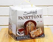 Паска с кремом тирамису и кусочками шоколада Santangelo PANETONE Al Tiramisu, 908 г (Италия)