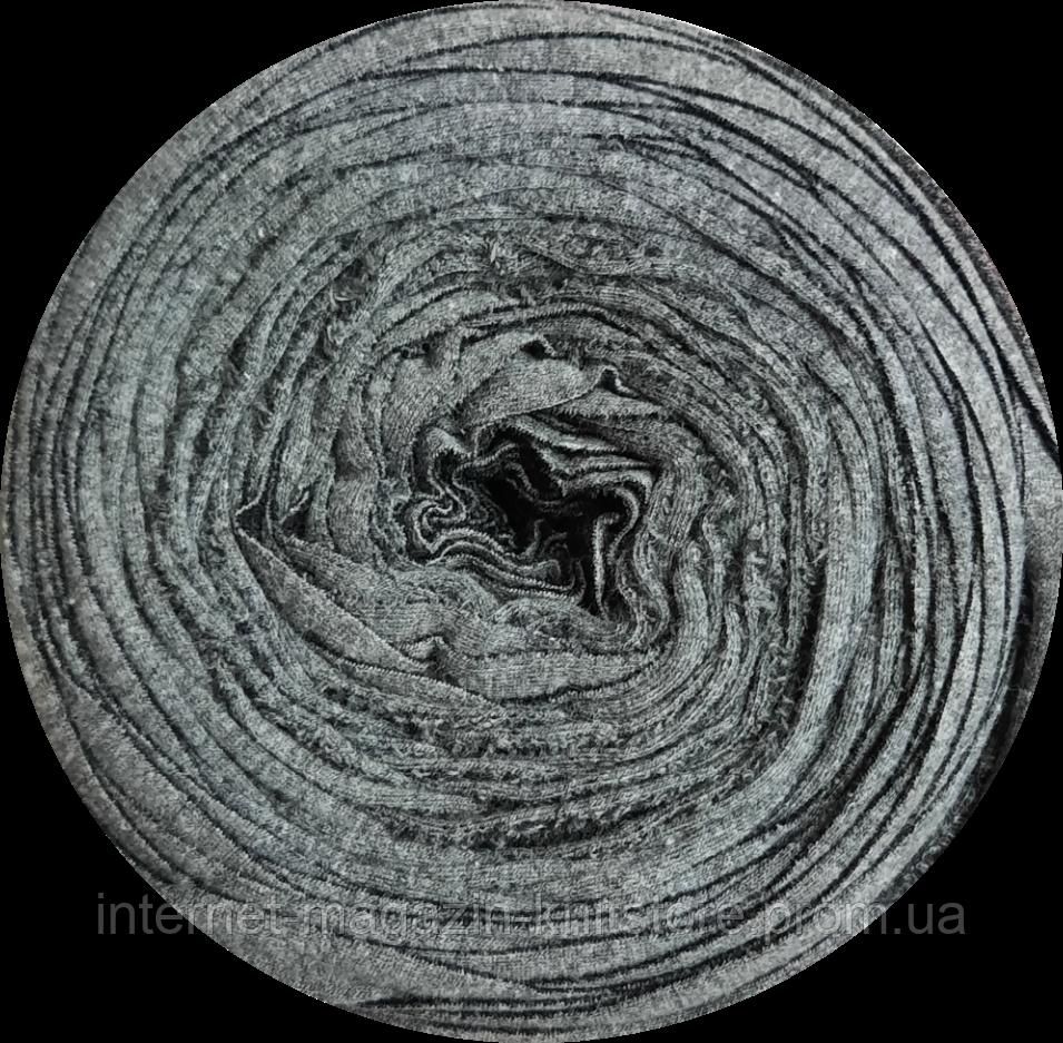 Пряжа трикотажна Therapy T-shirt Yarn L-Size Сірий темний