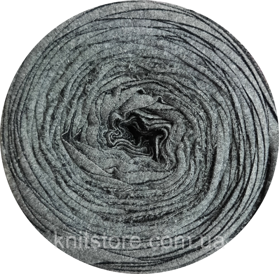 Трикотажная пряжа Therapy T-shirt Yarn L-Size Серый темный