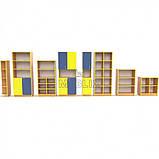 Учебная стенка для школы  ПРЕМІУМ. Школьные шкафы для дидактических материалов, фото 2
