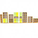 Учебная стенка для школы  ПРЕМІУМ. Школьные шкафы для дидактических материалов, фото 3