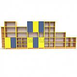 Учебная стенка для школы  ПРЕМІУМ. Школьные шкафы для дидактических материалов, фото 5