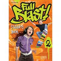 "Учебник Full Blast 2 Student's Book with Culture Time for Ukraine +Workbook with CD-Rom"""