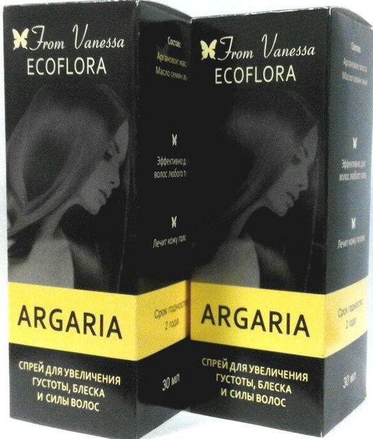 Argaria - спрей для густоти і блиску волосся (Аргария)