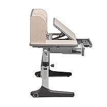 Комплект растущая парта Cubby Ammi Grey + ортопедическое кресло FunDesk Delizia Grey, фото 2