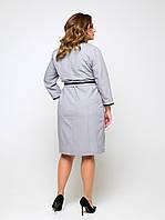 """Платье """"Мальфа"""" (серый), фото 1"""