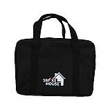 Розкладний мангал валізу на 8 шампурів з нержавіючої сталі з сумкою і гратами, фото 2