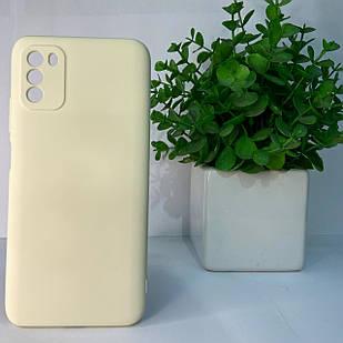Чехол Xiaomi Poco M3 белый