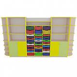 Навчальний шафа для дидактичних матеріалів Нову Школу. Шафи для школи НУШ, фото 3