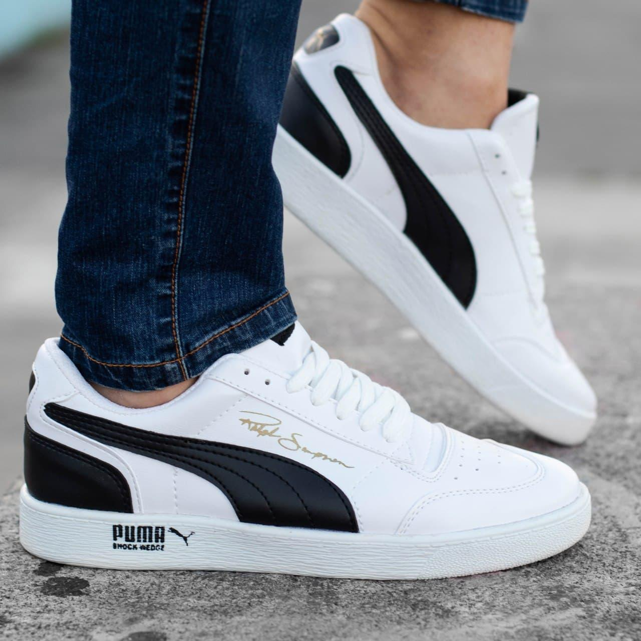 Мужские кроссовки Puma Ralph Sampsone White/Black