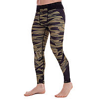Штаны мужские компрессионные тайтсы мужские Venum 9617 размер M (165-170см) Black-Camouflage