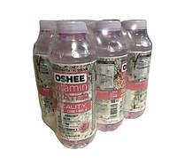 Упаковка безалкогольного напою oshee троянда 0,555 л * 6 пляшок #S/H