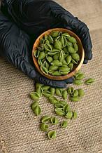 Макарони з зеленого гороху