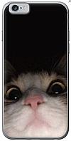 Силиконовый для iPhone 6S с принтом на прозрачной или черной основе (8CASE)