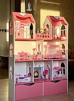Кукольный домик для кукол Барби (Barbie) Maxi с ящиками
