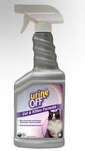 Спрей TropiClean Urine Off для удаления органических пятен и запахов, для котят и кошек, 500 мл