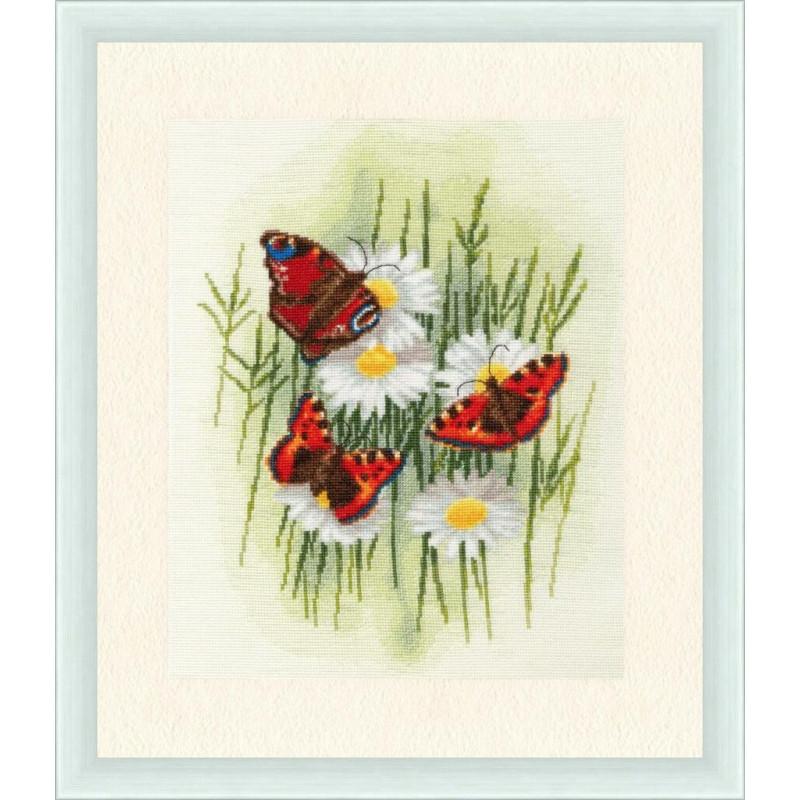 Набір для вишивання Золоте руно Чарівні метелики (БР-020)