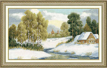 Набор для вышивания Золотое руно Ранний снег (ВМ-025)