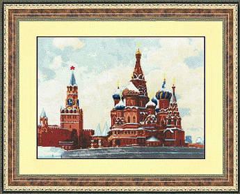 Набор для вышивания Золотое руно Храм Василия Блаженного (ГМ-017)