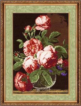 Набор для вышивания Золотое руно Английские розы (ГН-011)