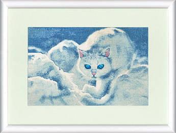 Набор для вышивания Золотое руно Белый кот (ГТ-042)