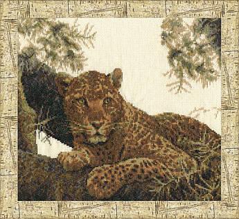Набор для вышивания Золотое руно Сомалийский леопард (ДЖ-022)