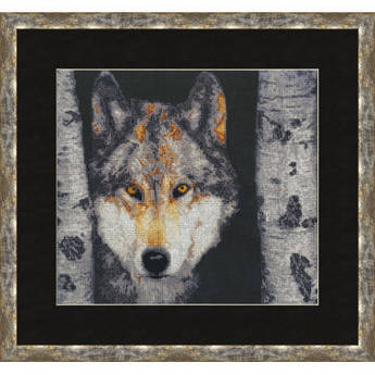Набор для вышивания Золотое руно Волк (ДЖ-025)