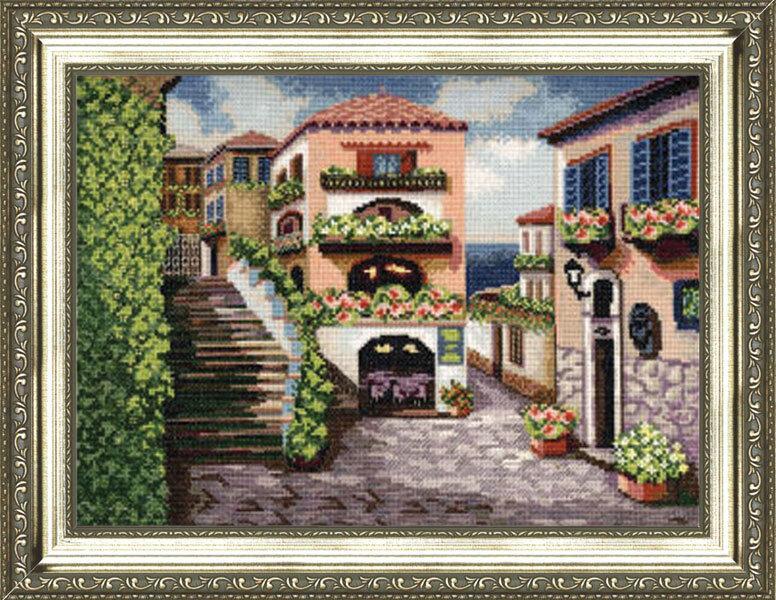 Набор для вышивания Золотое руно Улочки Италии (ДЛ-017)