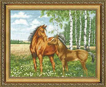 Набор для вышивания Золотое руно На опушке (З-016)