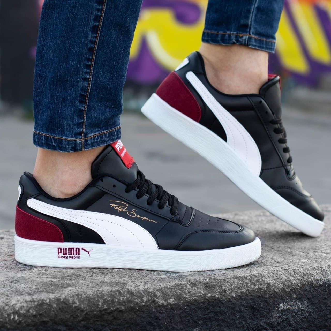 Мужские кроссовки Puma Ralph Sampsone Black/White/Red