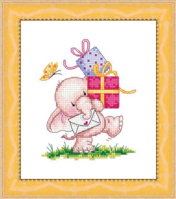 Набор для вышивания Сделано с любовью Подарки (РС-003)