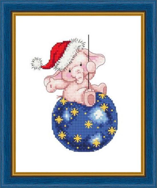 Набір для вишивання Зроблено з любов'ю Новорічна ніч (РС-005)