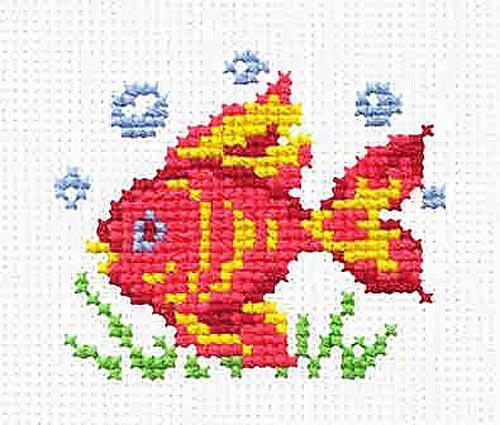 Набір для вишивання Чудова голка Чарівна рибка (10-25)