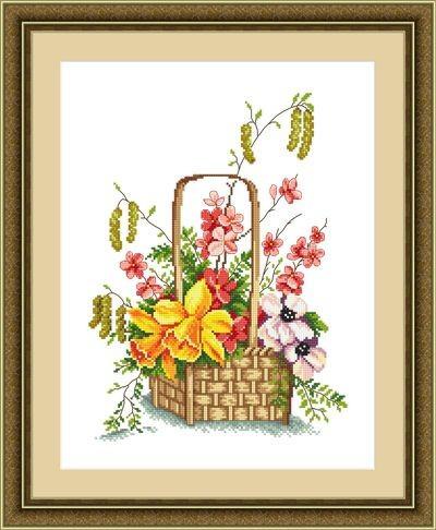 Набор для вышивания Сделано с любовью Весна красна (ЦВ-060)