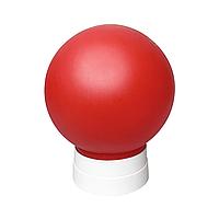 Светильник с прямым основанием, цоколем Е27, Рассеиватель D150мм красный