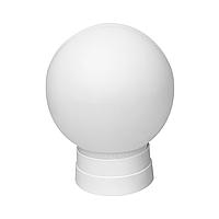 Светильник с прямым основанием, цоколем Е27, Рассеиватель D150мм белый