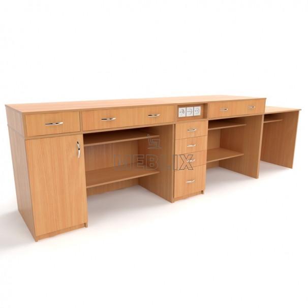Демонстрационный стол для кабинета физики - НУШ. Мебель для кабинетов физики в школе