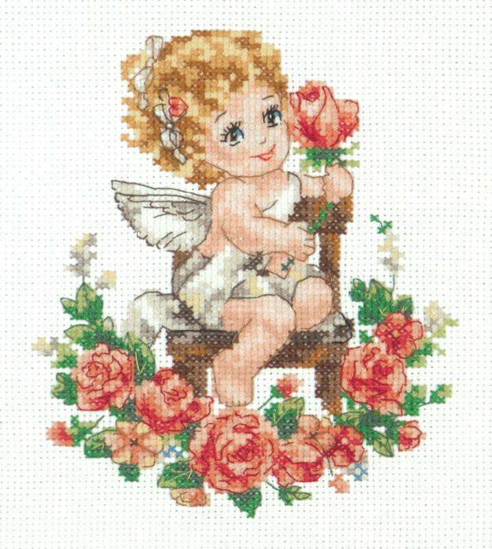 Набор для вышивания Чудесная игла День ангела! (35-18)