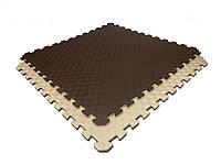 Мат-татами ласточкин хвост Lanor (120кг/м3) 100*100*2см, фото 1