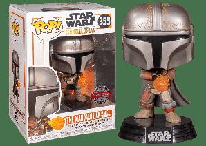 Фигурка Funko Pop Фанко Поп The Mandalorian Мандалорец Star Wars Звёздные войны SE10 см SW ТМ SE355