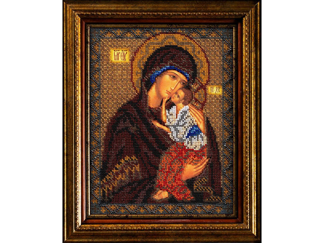 Набор для вышивания Радуга Бисера Ярославская Богородица (В-152)