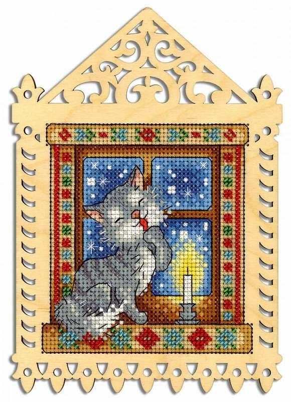 Набор для вышивания М.П. Студия Зимний вечер (О-001 )