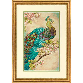 Набор для вышивания Dimensions Indian Peacock (70-35293)