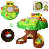 Дитячий ігровий центр-столик-сортер 3 в 1 Дерево QX-91150E РОЗПРОДАЖ
