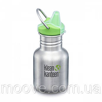 Klean Kanteen Classic Sippy Cap Brushed Stainless 355 мл