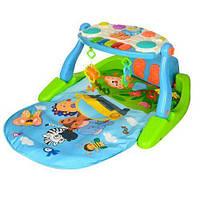Коврик для младенца музыкальный с пианино PB118X  РАСПРОДАЖА!