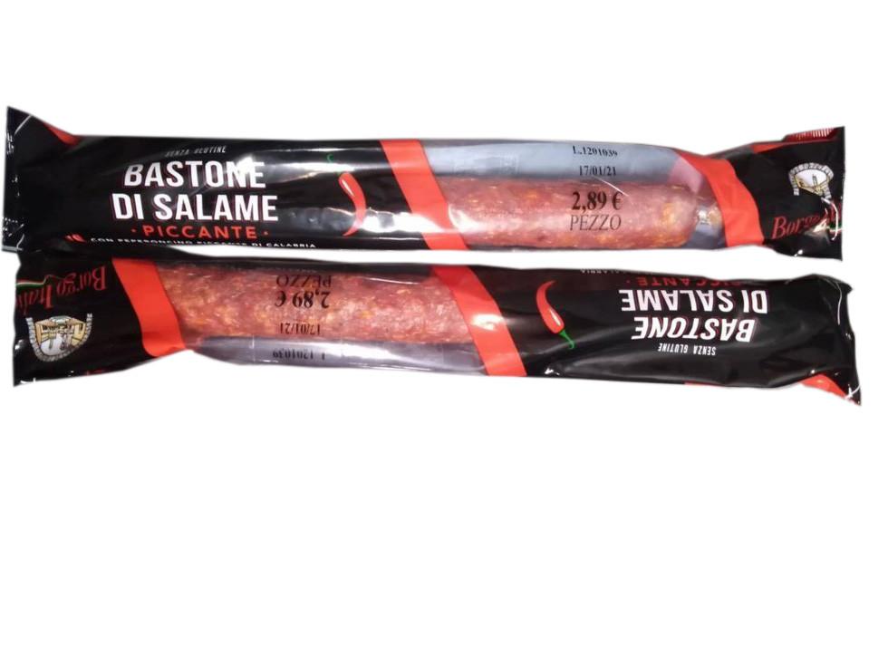Колбаса Borgo Italia Bastone di Salame Piccante салями со специями 250 г