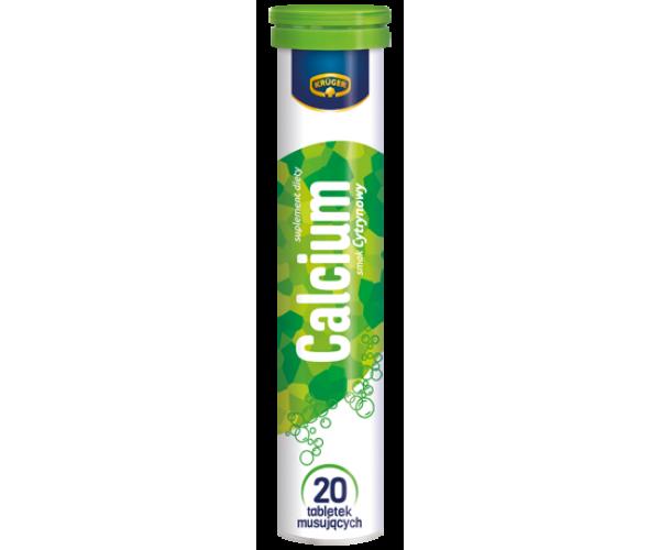 Витамины расстворимые шипучие Kruger Calcium Кальций 20 таблеток